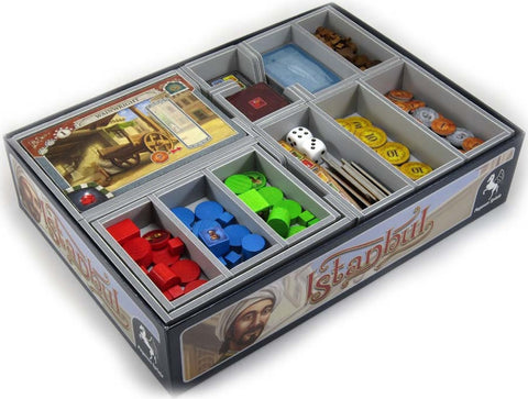 Folded Space: Game Inserts - Istanbul - The Board Gamer