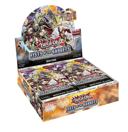 Yu-Gi-Oh! Fists of the Gadgets Booster Box