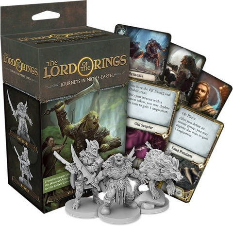 Lord of the Rings: Journeys in Middle Earth - Villains of Eriador Expansion