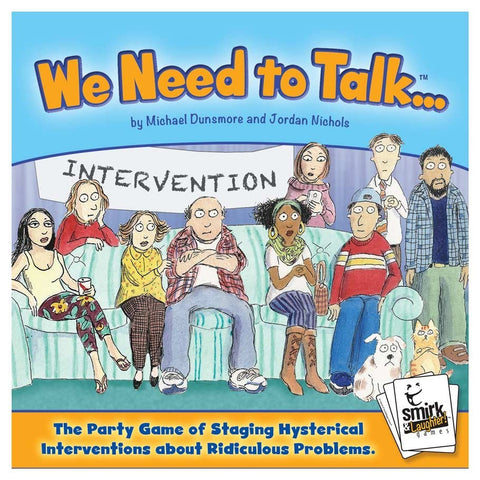 We Need To Talk - Party Game - The Board Gamer