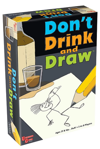 University Games: Don't Drink and Draw - Party Game