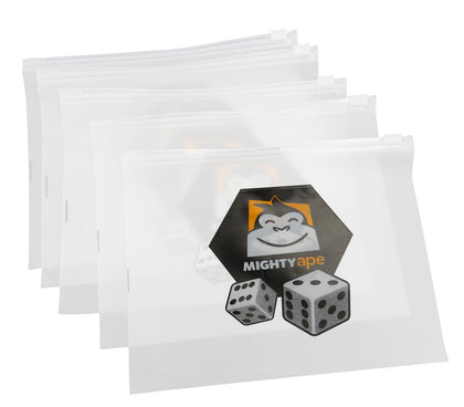 Mighty Ape Board Game Component Bags: 10 Pack - Large