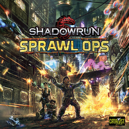 Shadowrun: Sprawl Ops - Board Game