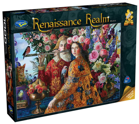 Holdson: 1000 Piece Puzzle - Renaissance Realm S2 (Music) - The Board Gamer