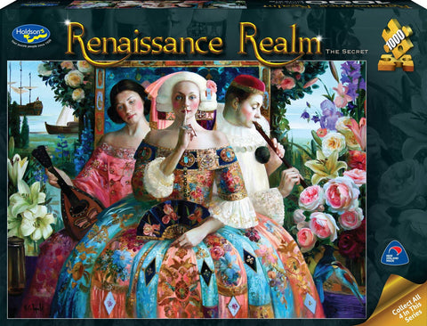 Holdson: 1000 Piece Puzzle - Renaissance Realm S2 (The Secret) - The Board Gamer
