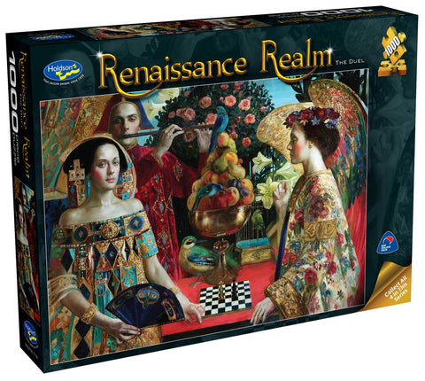 Holdson: 1000 Piece Puzzle - Renaissance Realm S2 (The Duel) - The Board Gamer