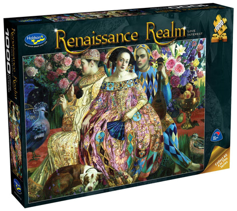 Holdson: 1000 Piece Puzzle - Renaissance Realm S2 (Love Interest) - The Board Gamer