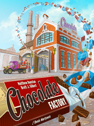 Chocolate Factory - Board Game