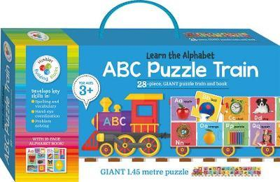 Hinkler: Building Blocks - ABC Puzzle Train - The Board Gamer