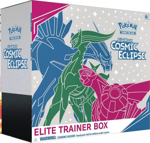 Pokemon TCG: Cosmic Eclipse Elite Trainer Box - The Board Gamer