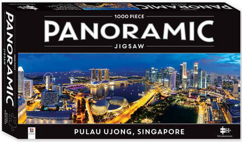 Mindbogglers: Panoramic 1000-Piece Puzzle - Singapore