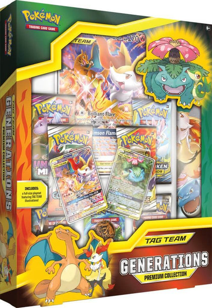 Pokemon TCG: Tag Team Generations Premium Collection