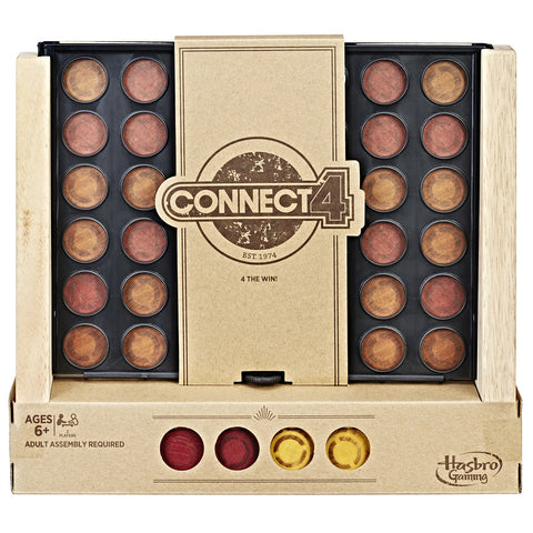Connect 4 - Rustic Series Edition