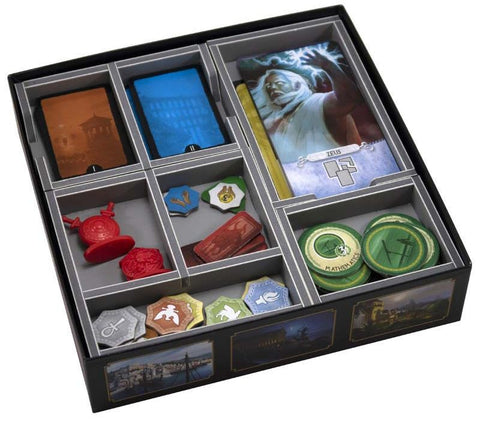Folded Space: Game Inserts - 7 Wonders Duel
