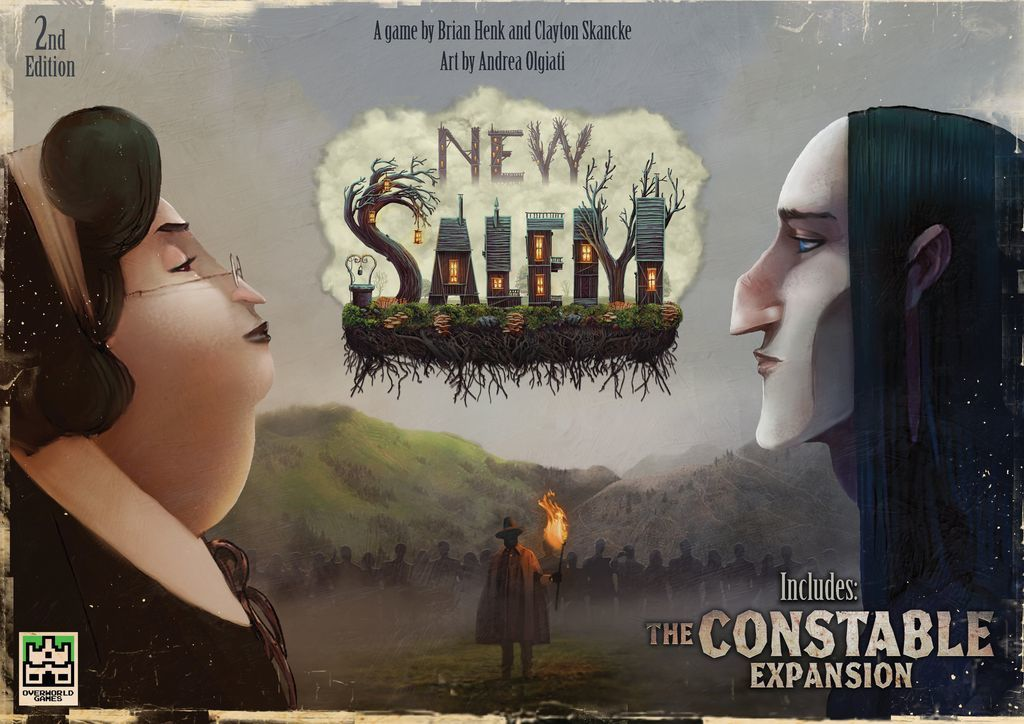 New Salem: 2nd Edition - Card Game