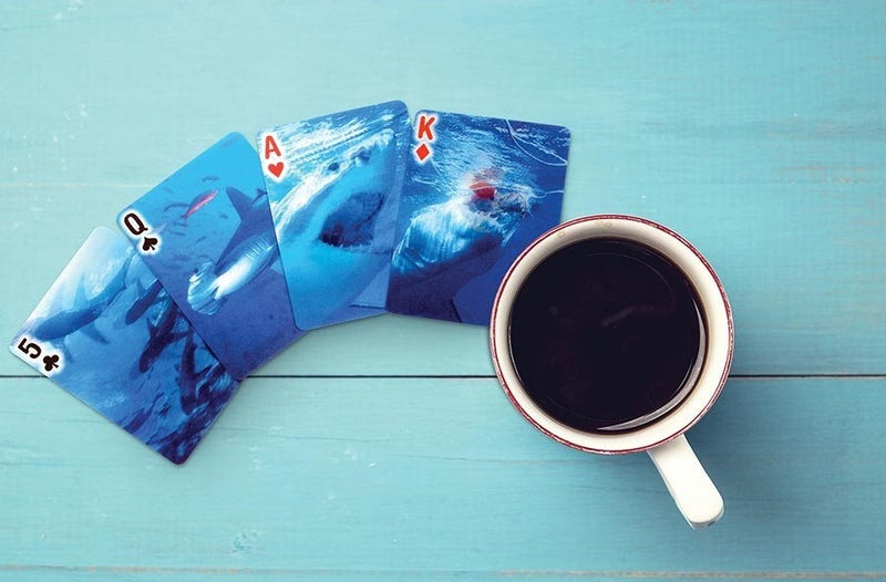 Kikkerland: 3D Sharks - Playing Cards