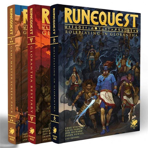 Runequest: Roleplaying in Glorantha Slipcase Set