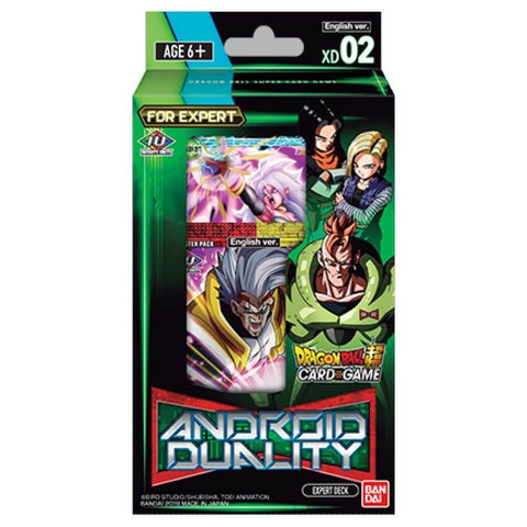 Dragon Ball Super TCG: Series 8 Expert Deck- Malicious Machinations Android Duality