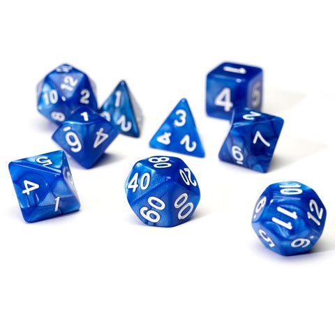 Sirius Dice Polyhedral Dice Set - Pearl Blue