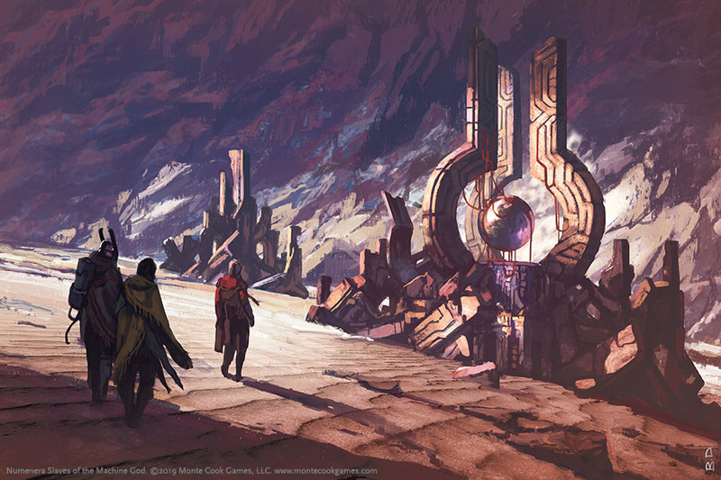 Numenera: RPG - Slaves of the Machine God (Campaign Supplement)