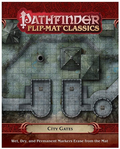 Pathfinder RPG: Flip-Mat Classics - City Gates