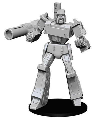 Transformers: Deep Cuts Unpainted Miniature - Megatron