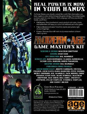 Modern AGE RPG Game Masters Kit