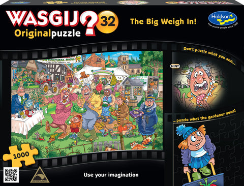 Wasgij: 1000 Piece Puzzle - Originals #32 (The Big Weigh In)