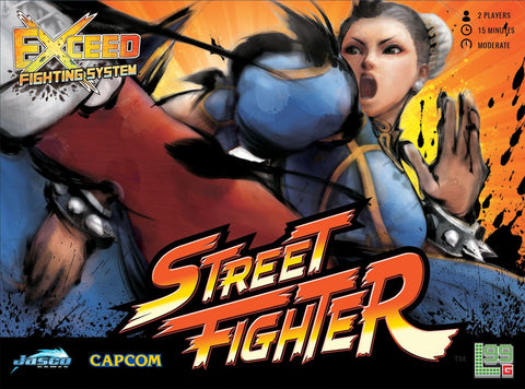 Exceed: Street Fighter - Chun-Li Box