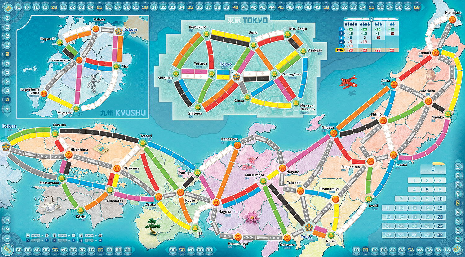 Ticket to Ride: Japan/Italy - Board Game