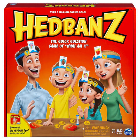 Hedbanz - Quick Question Family Guessing Game