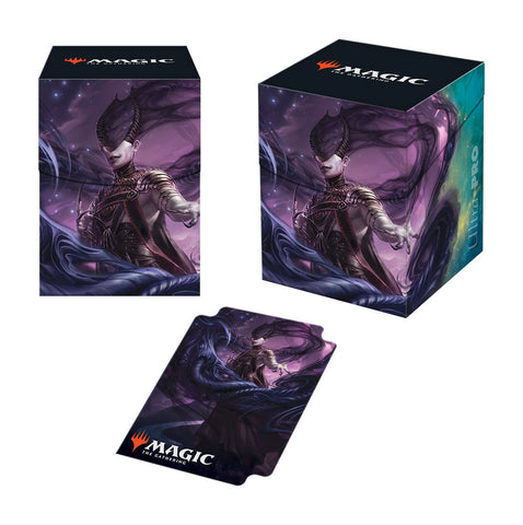 Ultra Pro: Magic Theros Beyond Death Ashiok Nightmare Muse PRO 100+ Deck Box
