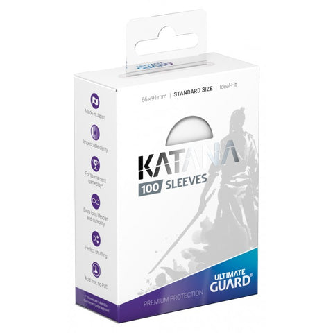 Ultimate Guard Katana Sleeves - Clear (100)