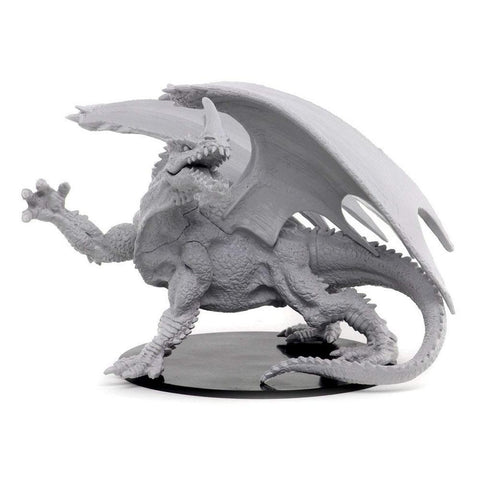 Pathfinder Deep Cuts Unpainted Miniatures - Gargantuan Green Dragon
