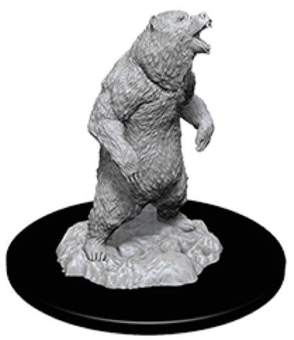 Pathfinder Deep Cuts: Unpainted Miniature Figures - Grizzly Bear