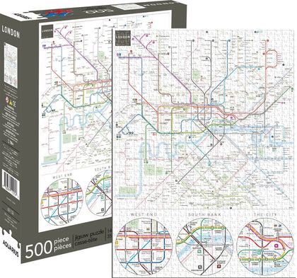 London Underground 500pc Puzzle