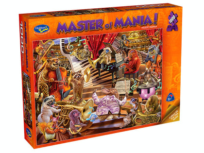 Holdson: 1000 Piece Puzzle - Master of Mania (Music Mania)
