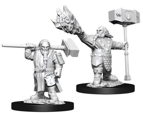 D&D Nolzur's Marvelous Miniatures - Male Dwarf Cleric