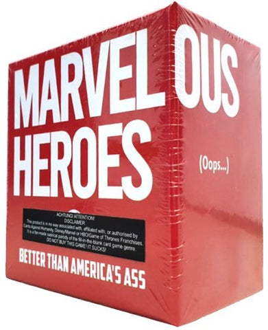 Marvelous Heroes - Party Game