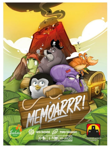 Memoarrr! - Card Game