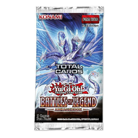 Yu-Gi-Oh! Battles of Legend Armageddon Single Booster (5 Cards)