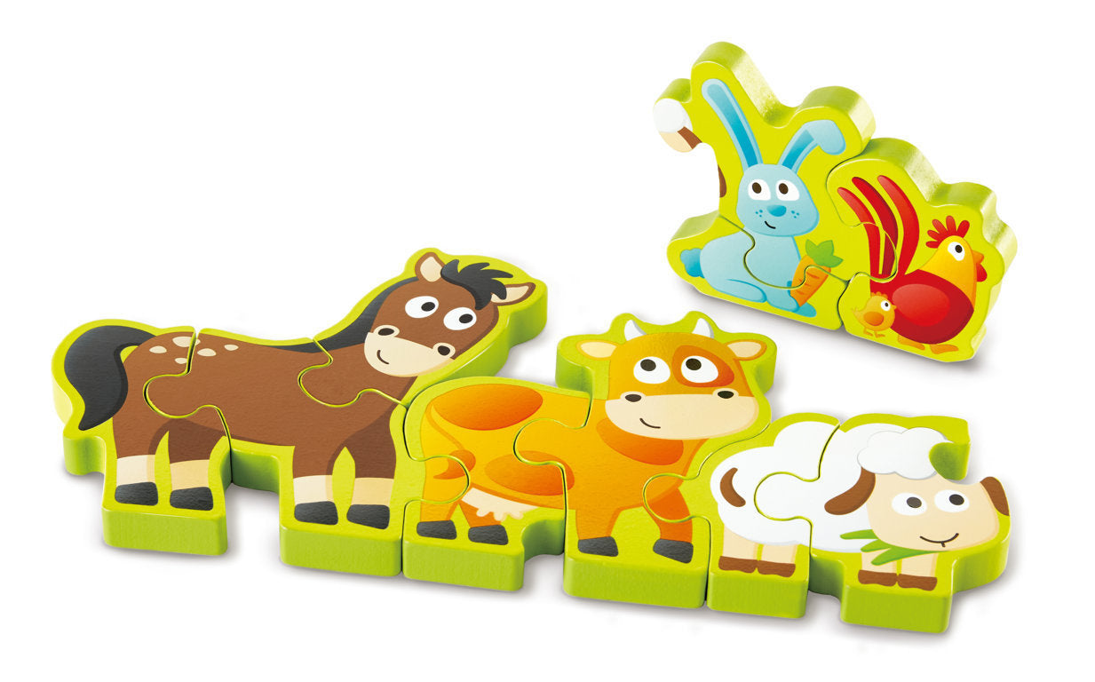 Hape: Numbers & Farm Animals Puzzle