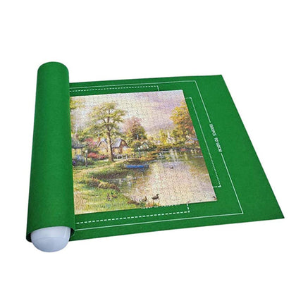 Puzzle Mat Roll for 500-3000 Pieces - Green