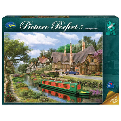 Holdson: 1000 Piece Puzzle - Picture Perfect 5 (Cottage Canal)