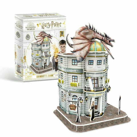 Cubic Fun: 3D Harry Potter Puzzle - Gringotts Bank