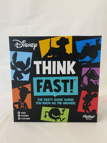 Disney Think Fast