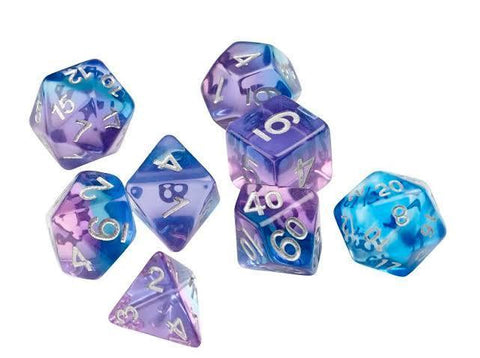 Sirius Dice: Polyhedral Dice Set - Violet Betta