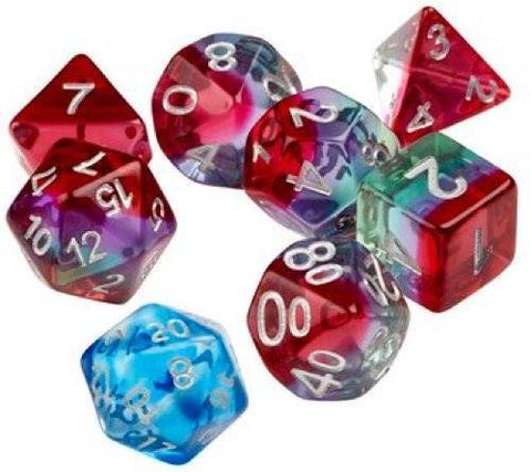 Sirius Dice: Polyhedral Dice Set - Watermelon