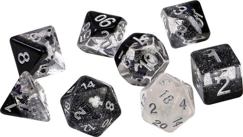 Sirius Dice: Polyhedral Dice Set - Clubs