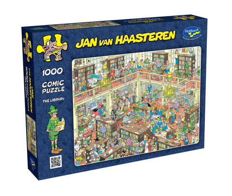 Holdson: 1000 Piece Puzzle - Van Haasteren (The Library)